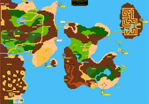 legend of zelda map quest 2 overworld zelda capital maps of hyrule
