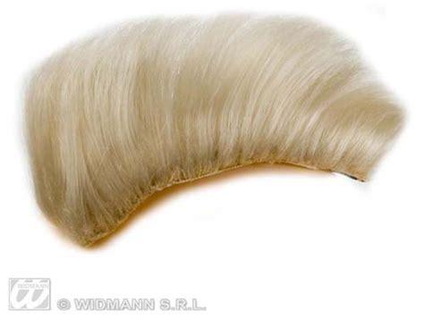 mohawk hair pieces blonde clip on punk mohawk hair piece wig a team rocker