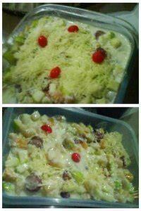 buat salad buah untuk diet salad buah