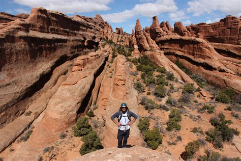 Devils Garden Trail by Arches National Park Travel By Tiffani Amo