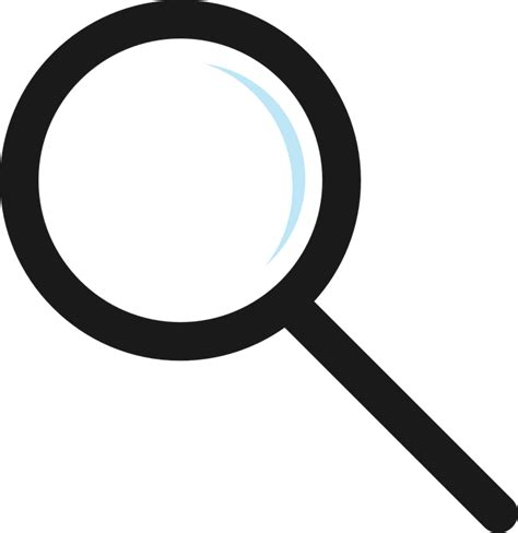 Kaca Pembesar Loupe Magnifying Glass Magnifier Lens free vector graphic magnifier glass icon nero free