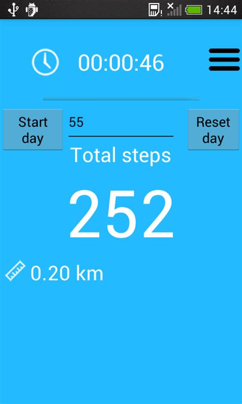free pedometer app for android pedometer and step counter free android app android freeware