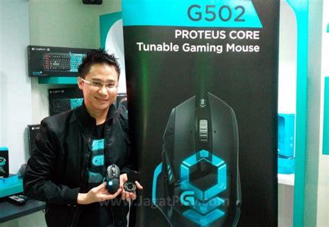 Mouse Macro Pasaran logitech luncurkan gaming mouse g502 proteus bawah laci
