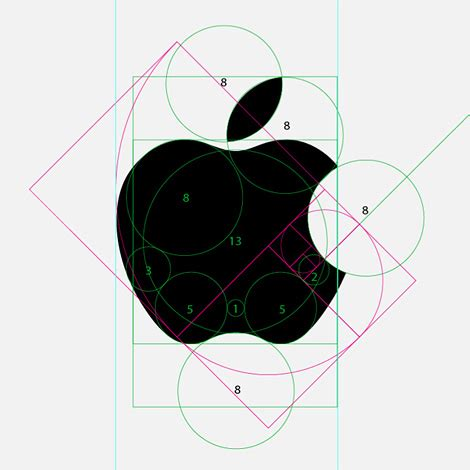 apple design apple logo analysis