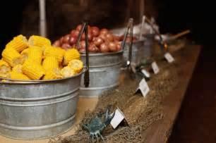 barn food 40 rustic country buckets tubs wedding ideas deer