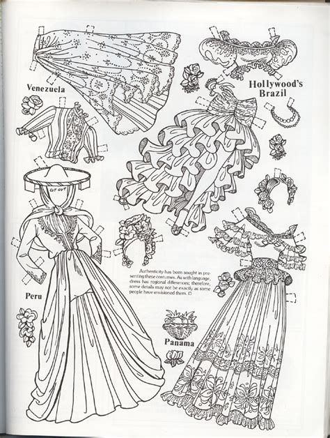 coloring book magazine paper dolls marges8 s page 42