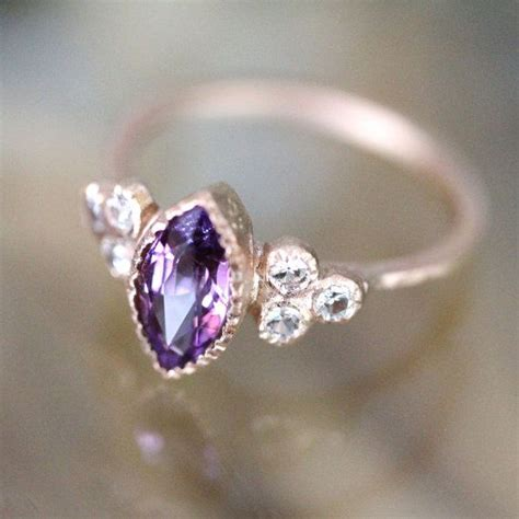 1000 ideas about purple sapphire on gold