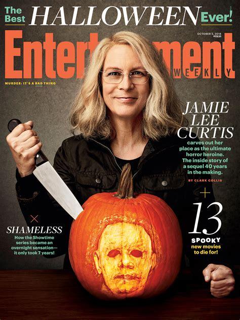 jamie lee curtis in new halloween movie jamie lee curtis says new halloween is a metoo movie ew