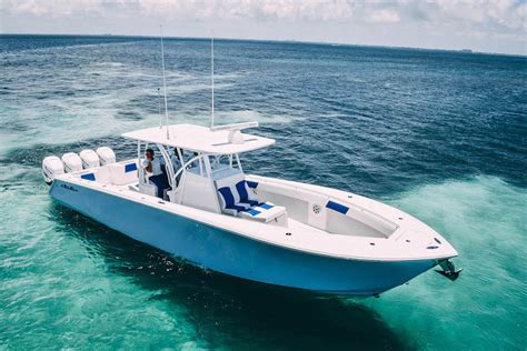 fishing boat sea hunter seahunter 39 boat builder customize your offshore