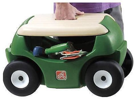Gardening Seat With Wheels by Garden Seat Wheels Ebay