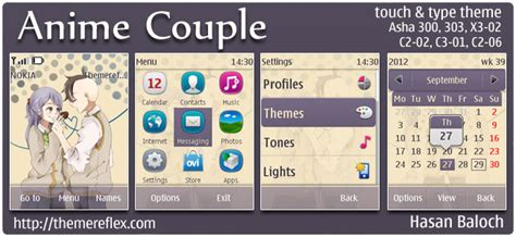 themes for nokia c2 anime nokia anime themes themereflex