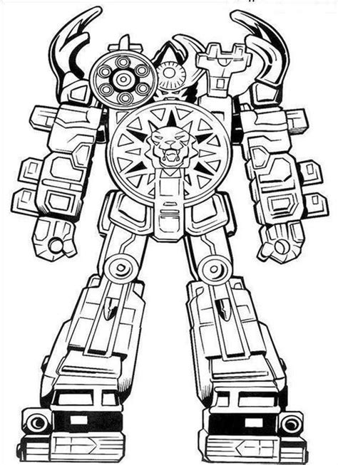 free coloring pages of robots