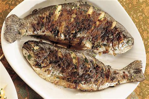 cucinare trote ricetta trote aromatiche arrostite la cucina italiana