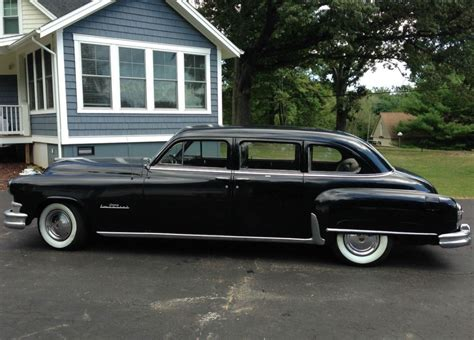 chrysler imperial limousine for sale all original 1952 chrysler crown imperial bring a trailer