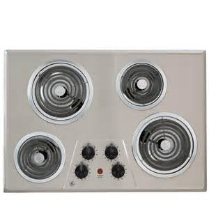 home depot electric stove top whirlpool 30 in coil electric cooktop in white with 4