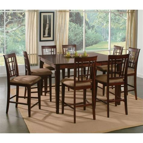 Pub Height Dining Tables Atlantic Furniture Montego Bay 9 Pub Height Dining Set Ad816234xx