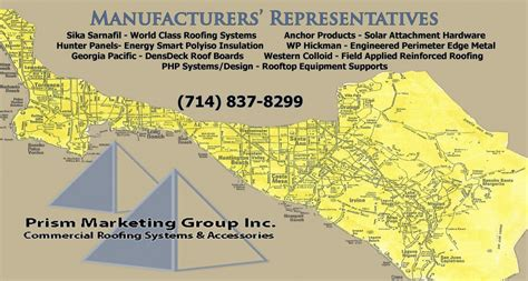 anchor roofing systems arizona sales territory prism marketing