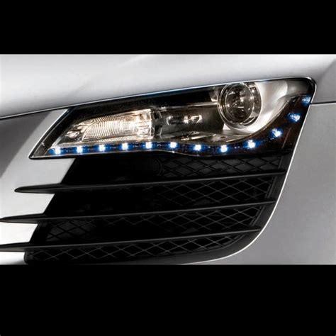 Led Light Strips For Car Headlights Blue Led Headlight Strips Light Kit Strips Cars Trucks Vehicle Bright Glow New Ebay