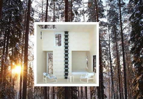 Vivood Landscape Hotel In The Forest Invisible Realm Of Mirrors
