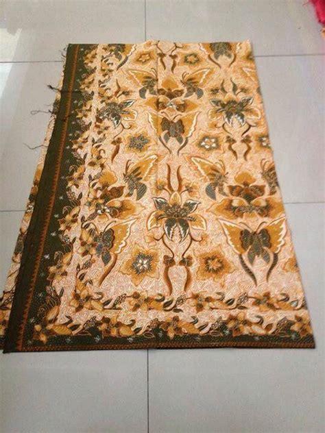 Kain Batik Murah Batik Sogan Tolet Handprint 1 seragam batik ipm muhammadiyyah dengan harga terjangkau batik dlidir