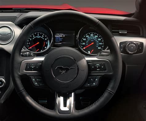 mustang gt steering wheel new ford mustang steering wheel