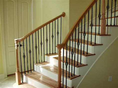 Banisters And Spindles by Fresh Interior Stair Railing Balusters 19302