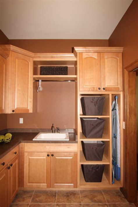Laundry Closet Organizer by Furniture Laundry Closet Organizer With Oak Cabinet With