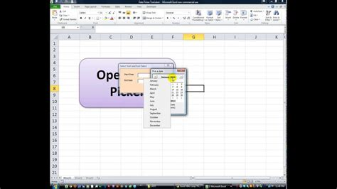 format excel vba access excel vba datepicker format excel tips put a calendar