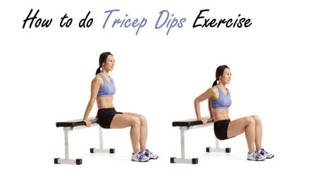 how to do a bench dip 1 song push ups and dips challenge