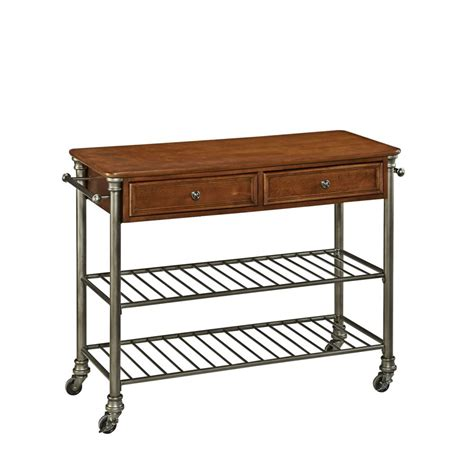 Home Depot Kitchen Carts by Home Styles The Orleans Kitchen Cart The Home Depot Canada