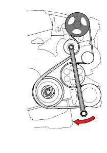 serpentine belt  cylinder  wheel drive manual