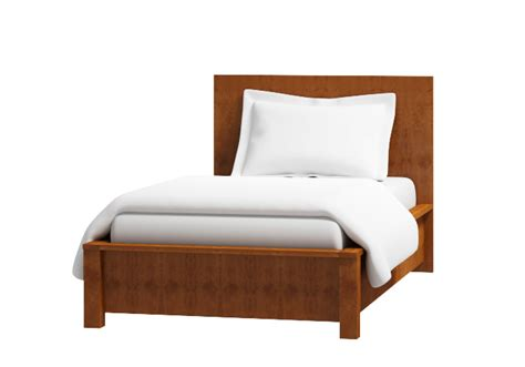 single platform bed warner wood bedstead the original bedstead company