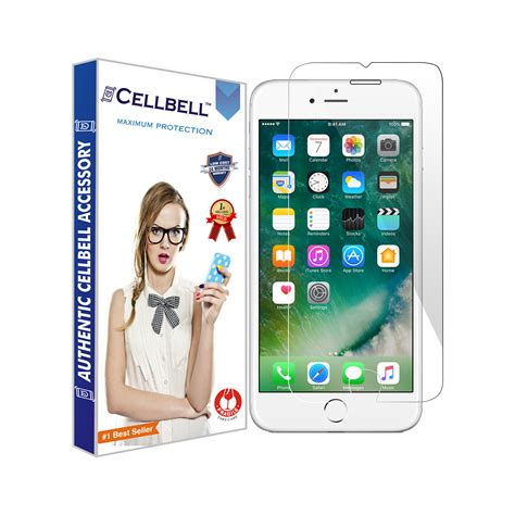 Tempered Glass Apple Iphone 6 6 Plus apple iphone 6 plus tempered screen glass cellbell