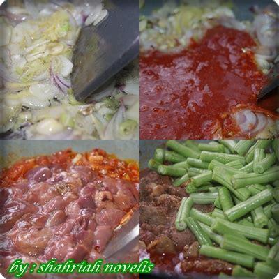 Minyak Goreng Siip by The Writer S Cooking Kacang Panjang Goreng Hati