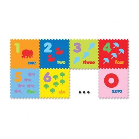 Evamat Angka By Syafah Toys jual evamat puzzle angka dan gambar tikar 10 pcs
