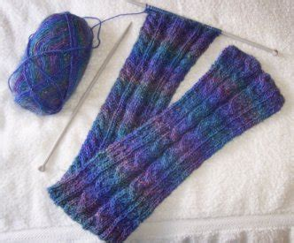 Knitting Pattern Sites | cable scarf pattern the knitting site