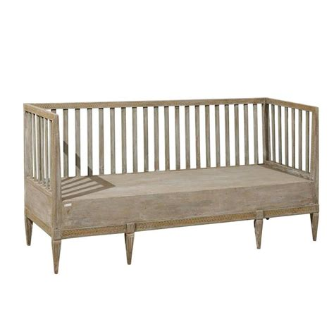 swedish woodworking bench swedish period gustavian painted wood bench from the late