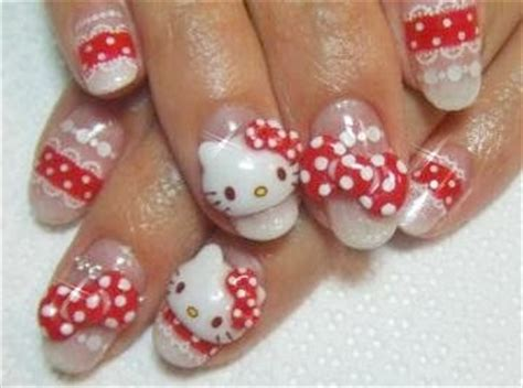 imagenes de uñas hello kitty todo sobre manos y pies fotos de u 241 as de hello kitty