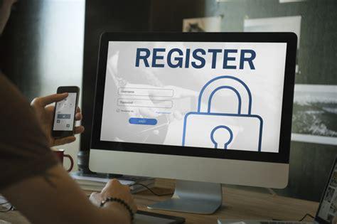 register log  user password concept photo premium