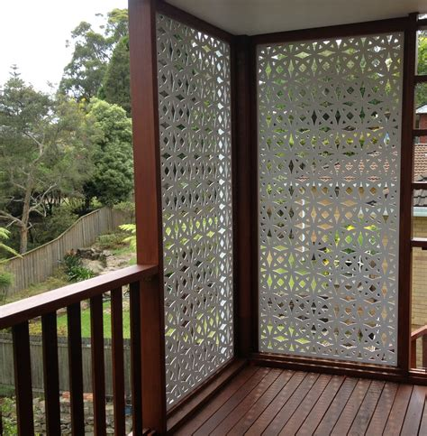 Outdoor Patio Privacy Screen by Timber Panels Timber Privacy Screens Divider