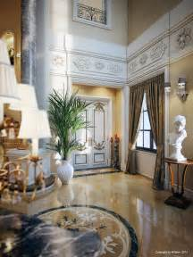 villa interiors luxury villa in qatar visualized