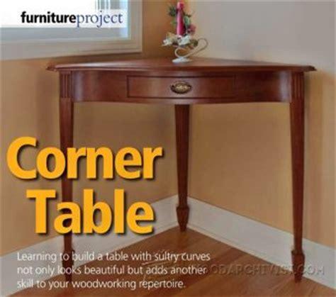 Shaker Corner Cabinet Plans