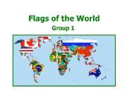 flags of the world ppt esl english powerpoints world flags 1