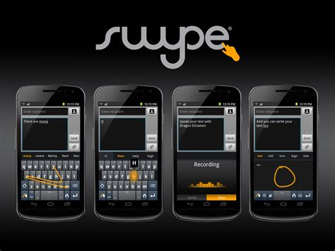 swype for android nuance debuts next swype keyboard for android