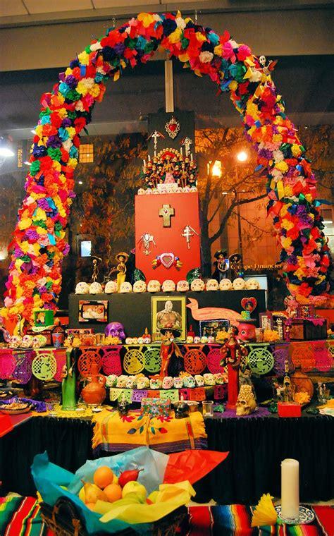 imagenes de altares de novenarios con papel dia de muertos peque lopez