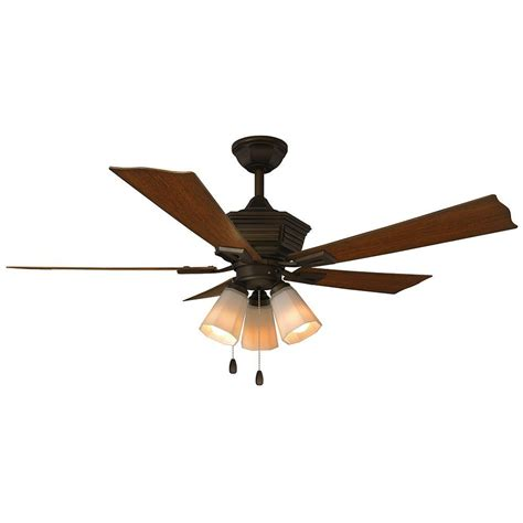 home decorators collection ceiling fan home decorators collection pembroke 52 in led indoor