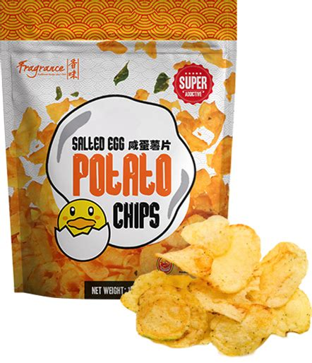 Lebro Salted Egg Potato Chips products fragrance salted egg