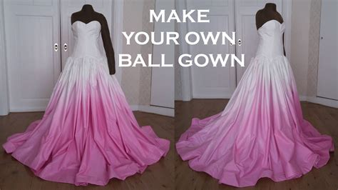 how to make a diy dress from a mans dress shirt fashion diy prom wedding ball gown dress sew along youtube