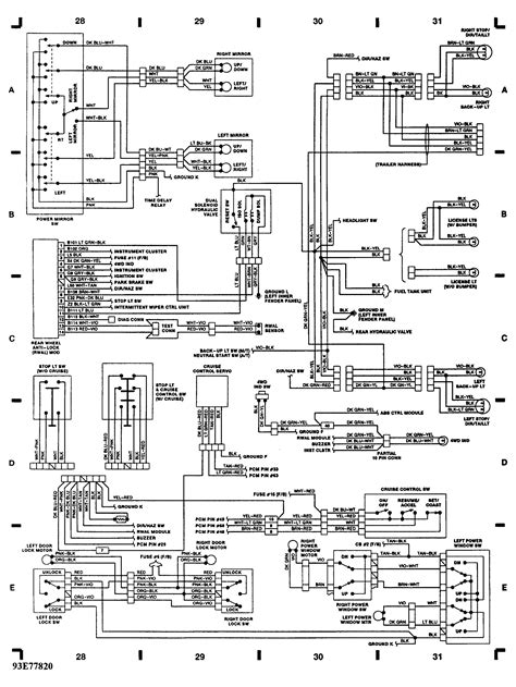 1998 dodge ram headlight switch wiring diagram 28 images