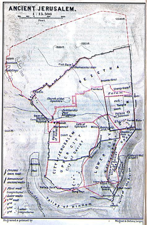 jerusalem israel map david anointed king david anointed king of israel